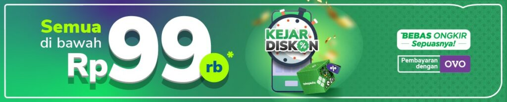 kejar diskon - flash sale