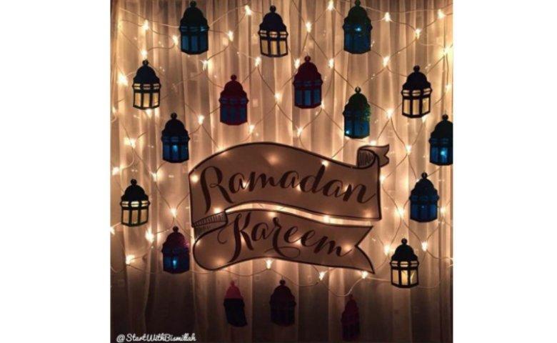 Dekorasi Idul Fitri
