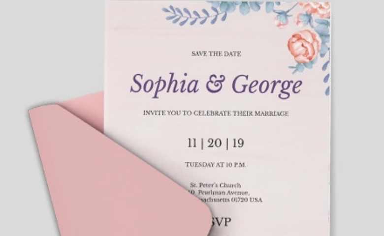 10 Desain Kartu Undangan Pernikahan Yang Simple Tokopedia Blog