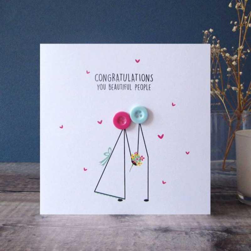 9 Ide Desain Kartu Ucapan Happy Wedding Day Unik dan Menarik!