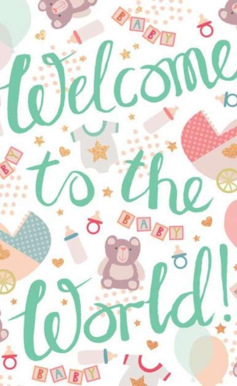 11 Ide Desain Kartu Ucapan Selamat Kelahiran Bayi yang ...