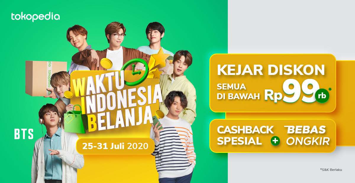 Promo Waktu Indonesia Belanja