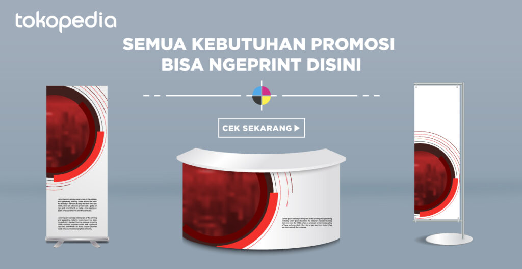 Tokopedia Print - Kebutuhan Marketing