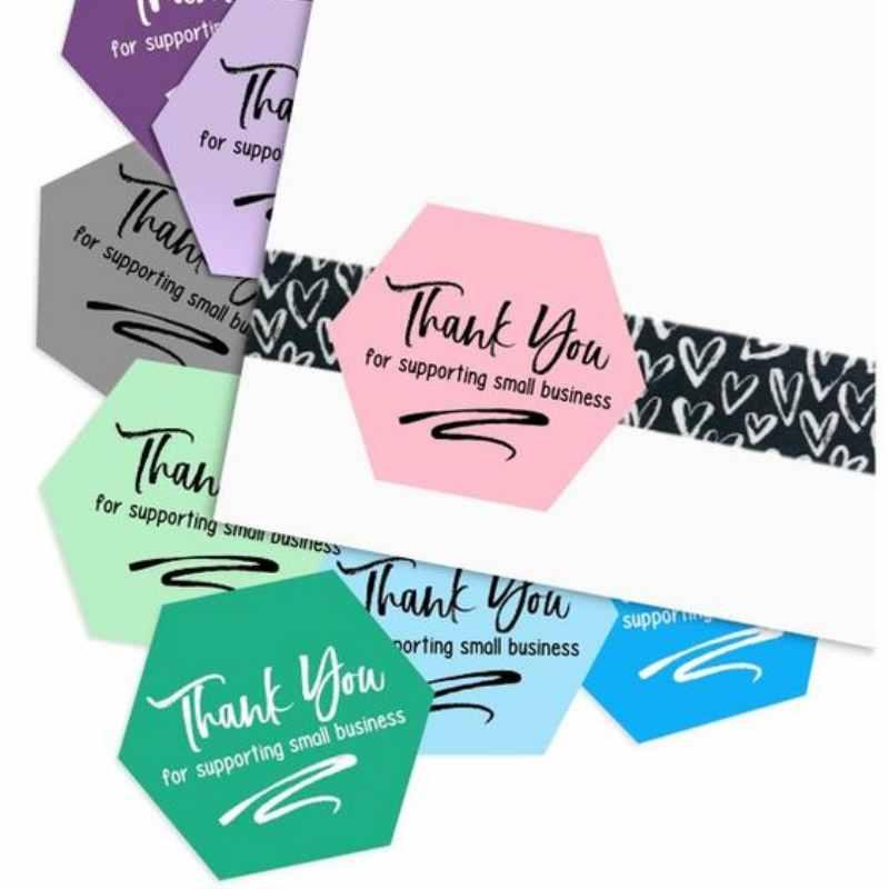 Thank you card segi enam