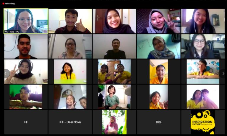Kolaborasi dengan Inspiration Factory Foundation, CSR Tokopedia Ajarkan Anak Bangun Emosi Positif