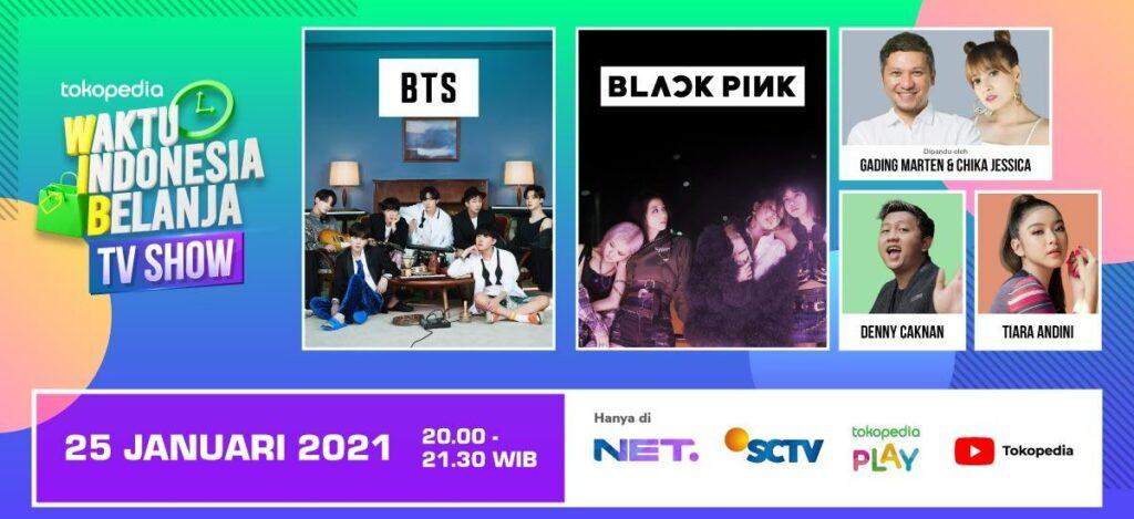 Banner WIB Blackpink & BTS
