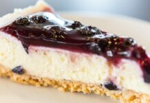 Bluberry cheese pie
