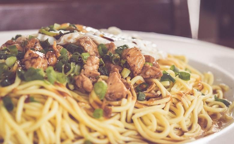 Longevity Noodles (Siu Mie)