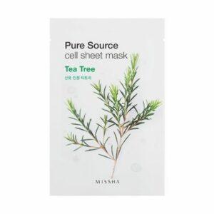 Missha- Tea Tree Pure Source Cell Sheet Mask