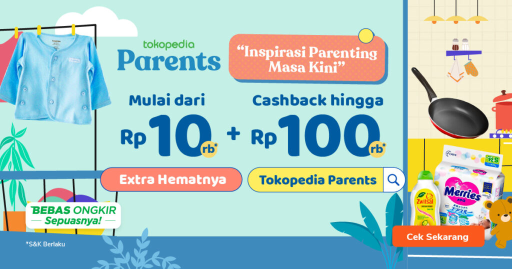 banner tokopedia parents
