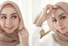 10 Inspirasi Model Hijab Plisket Kekinian