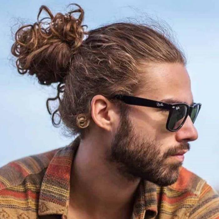 gaya rambut ikal pria