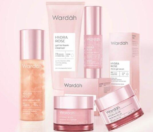review wardah hydra rose- efektif atasi kulit kusam dan dehidrasi