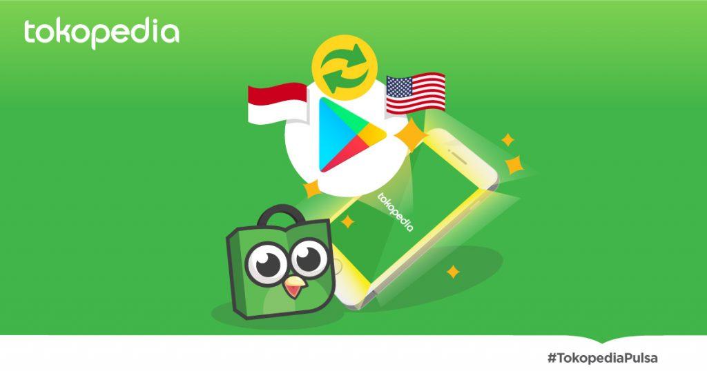 cara switch account google play dari indo ke us