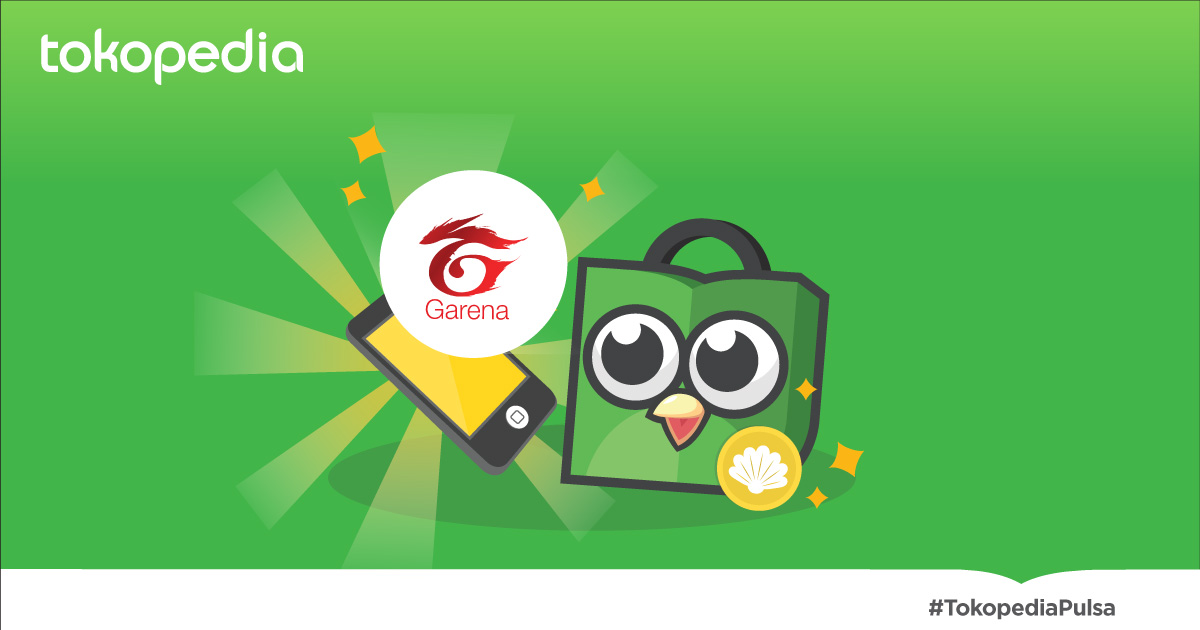 Cara Redeem Kode Voucher Game Garena ke Shell - Tokopedia Blog