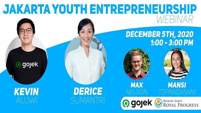 Jakarta Youth Entrepreneurship Webinar w Kevin Aluwi  Derice Sumantri - Background