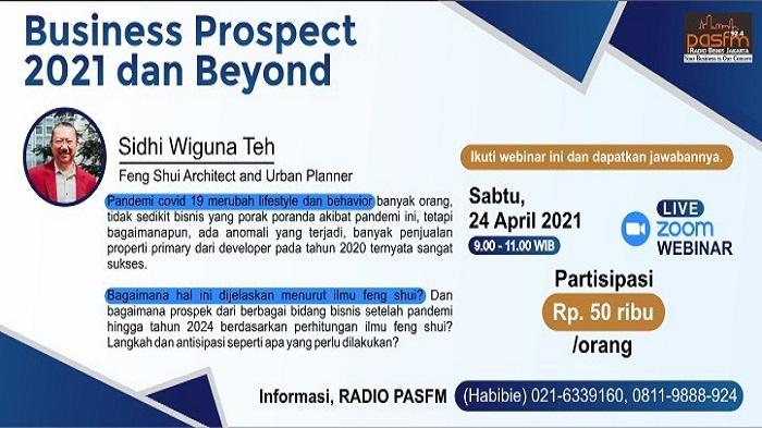 WEBINAR BUSINESS PROSPECT 2021 DAN BEYOND