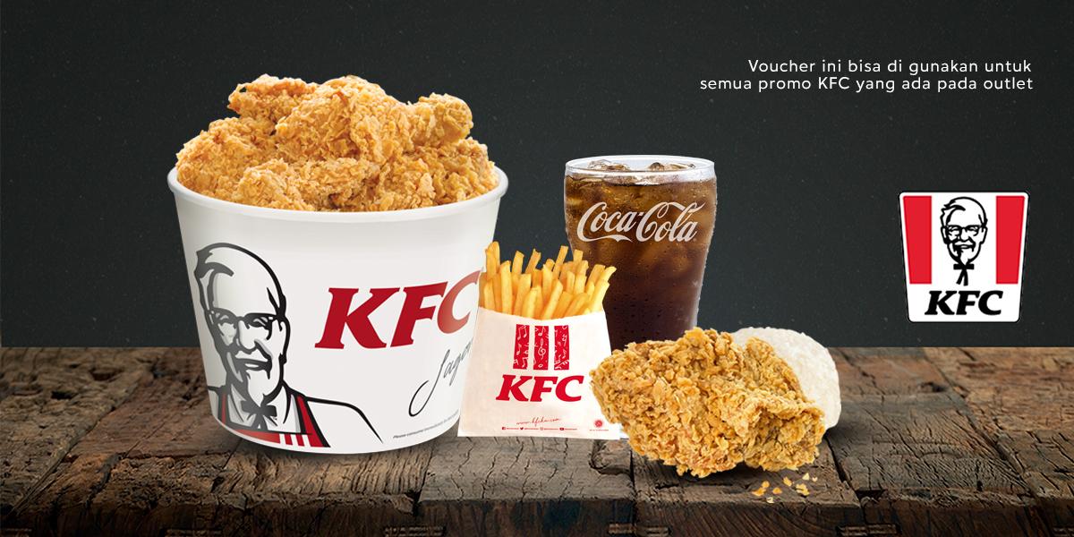 Voucher KFC Rp 100.000
