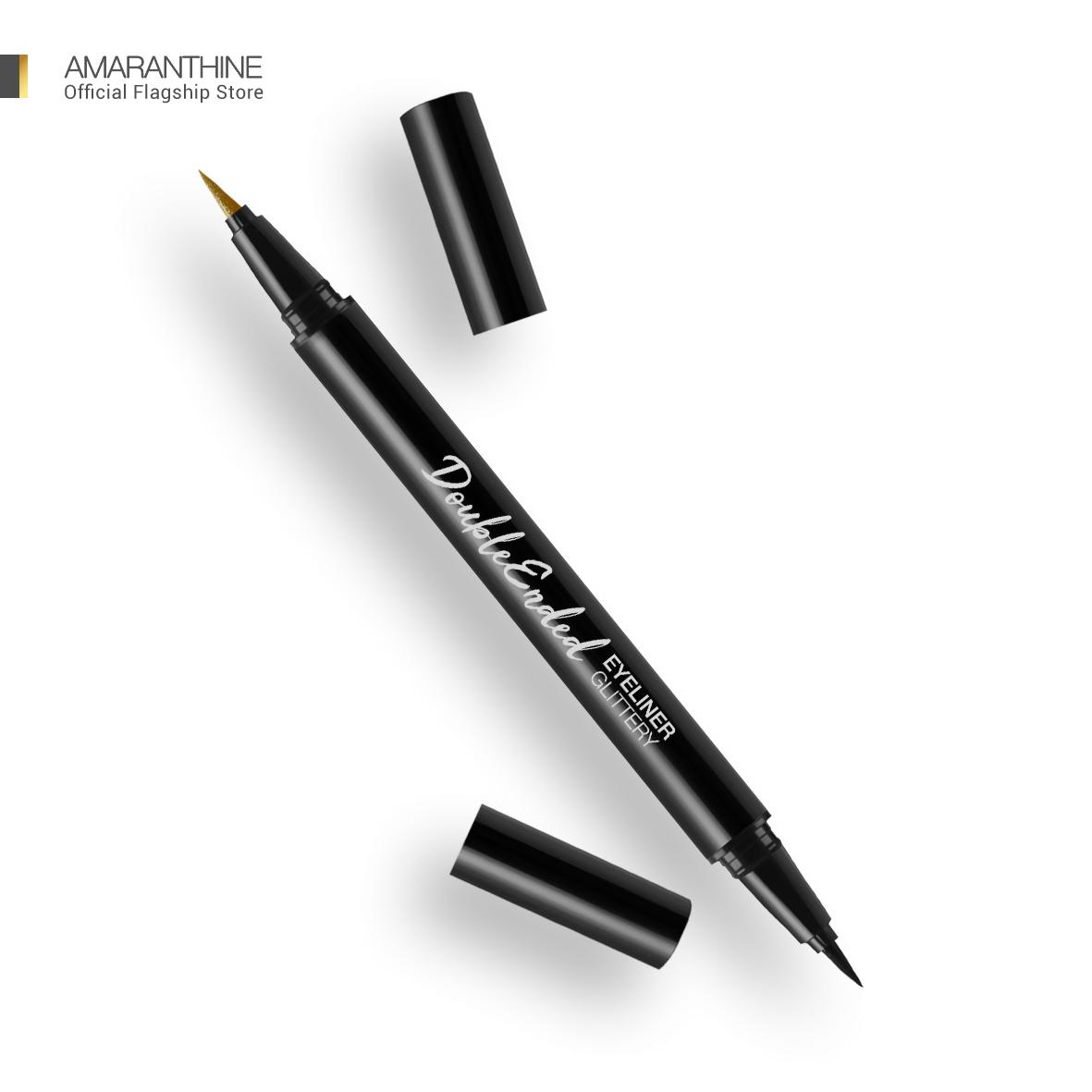 Amaranthine Double Ended Eyeliner Glitery - Black Gold thumbnail