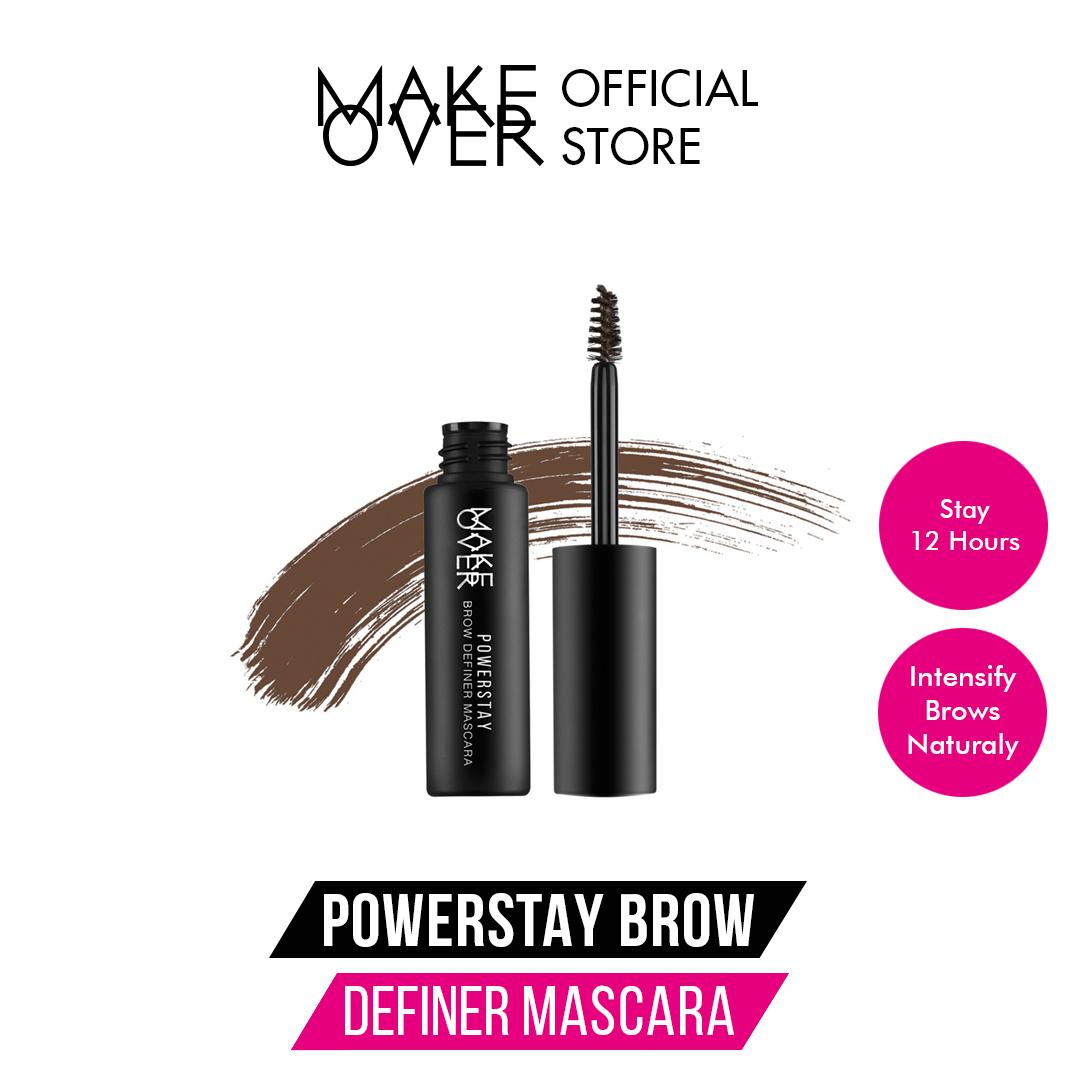 MAKE OVER Powerstay Brow Definer Mascara - 03 Coffe Cream thumbnail