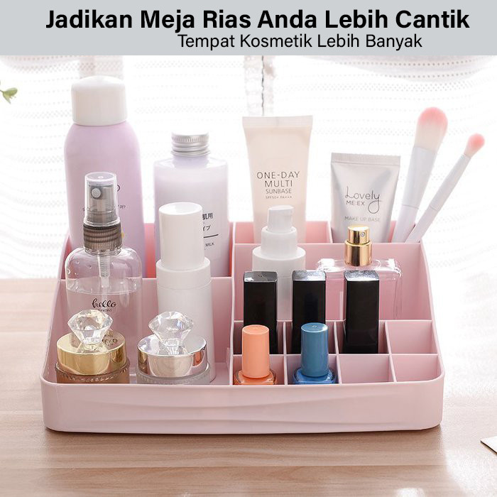 GM Bear Rak Kosmetik Makeup Multifungsi Storage Box 1234-Cosmetic Rack 4