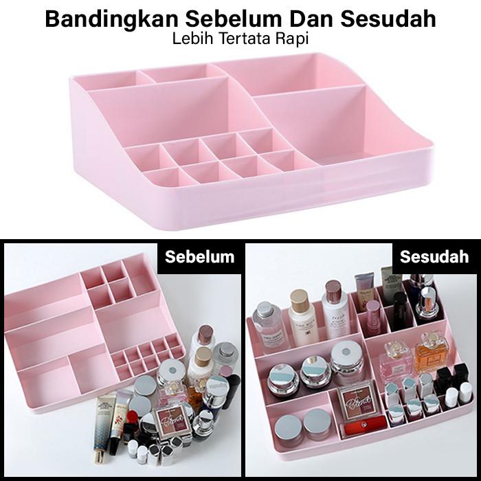GM Bear Rak Kosmetik Makeup Multifungsi Storage Box 1234-Cosmetic Rack 3