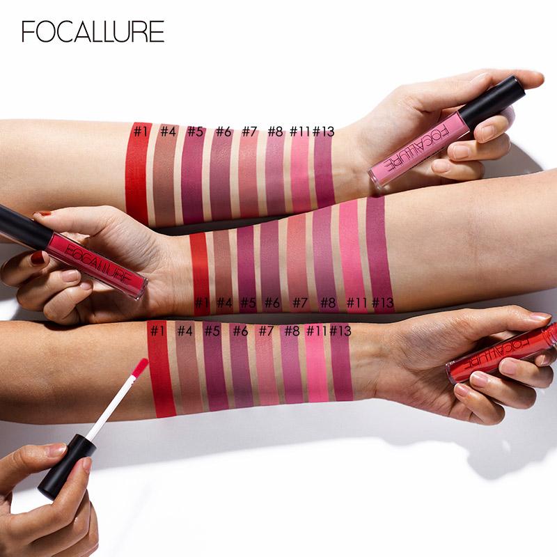 Focallure Long Lasting Matte Lips Color FA24 - FA24-19 3