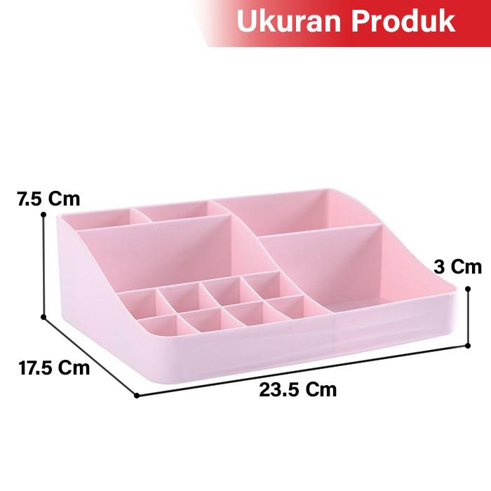 GM Bear Rak Kosmetik Makeup Multifungsi Storage Box 1234-Cosmetic Rack 5