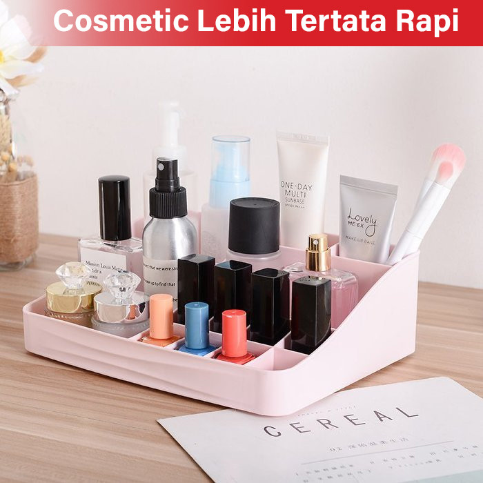 GM Bear Rak Kosmetik Makeup Multifungsi Storage Box 1234-Cosmetic Rack 2
