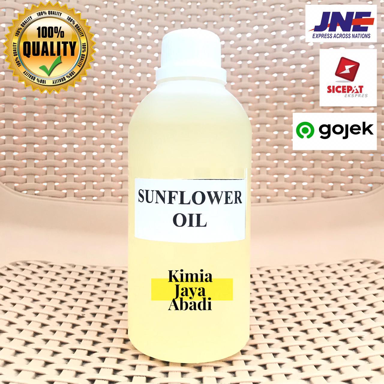 Sunflower Seed Oil Cosmetic Grade - Minyak Biji Bunga Matahari 500 ML thumbnail
