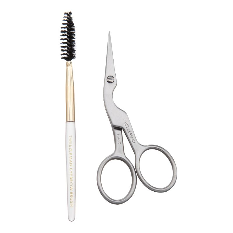 Tweezerman 2914-LLT Precision Point stainless brow shaping & brush thumbnail