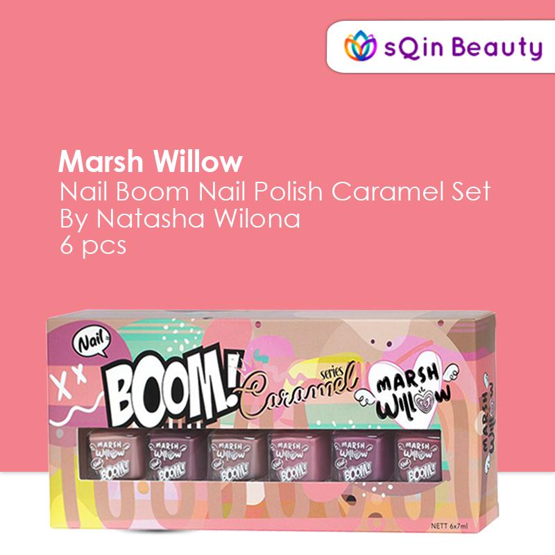 Marshwillow Nail Bloom Nail Polis Caramel Set 10Ml By Natasha Wilona thumbnail