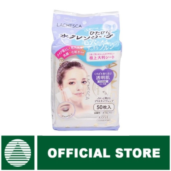 Kose Softymo Lachesca Cleansing Sheet Clear [50x288 mL] thumbnail
