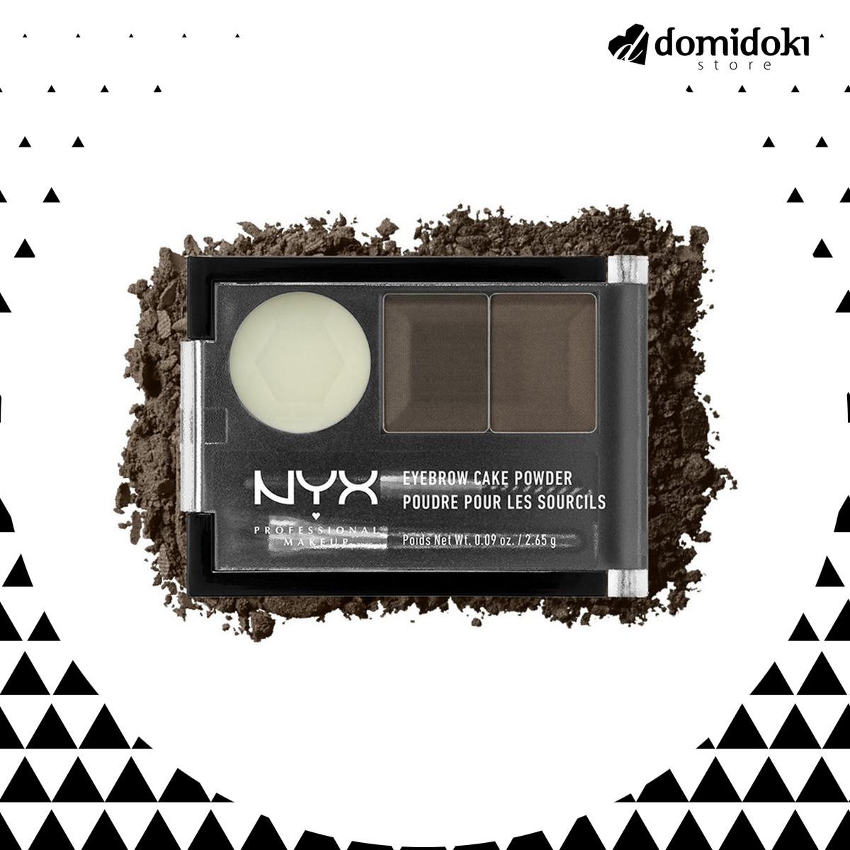 NYX Eyebrow Cake Powder - ECP01 BlackGray thumbnail