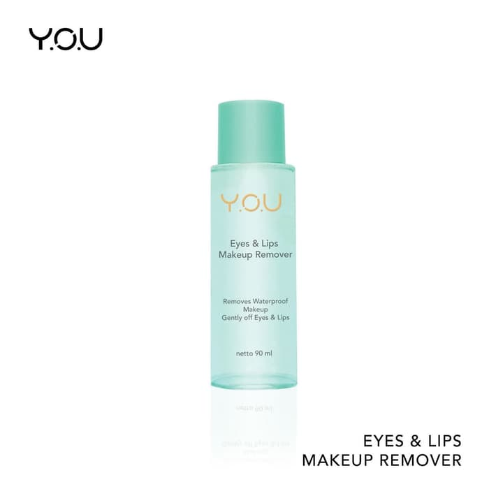 YOU Eyes & Lips Makeup Remover Face Lip Pembersih Make up thumbnail