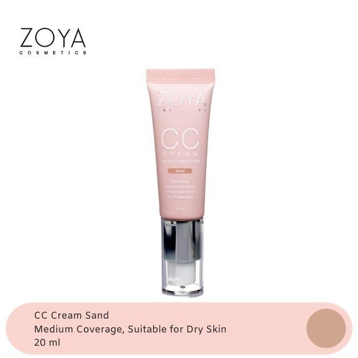 Zoya Cosmetics CC Cream Sand thumbnail