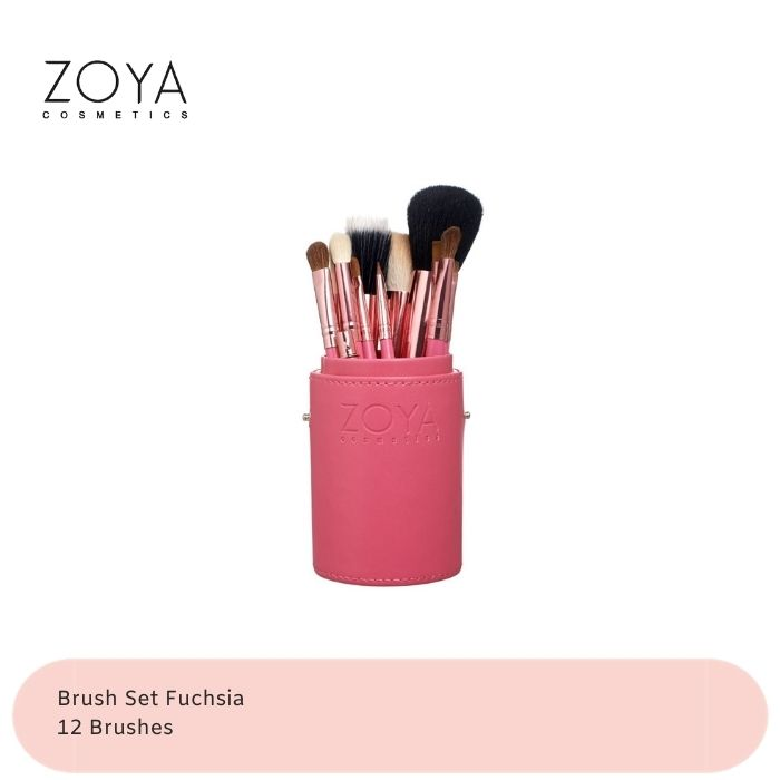 Zoya Cosmetics Brush Set 12 Pcs thumbnail