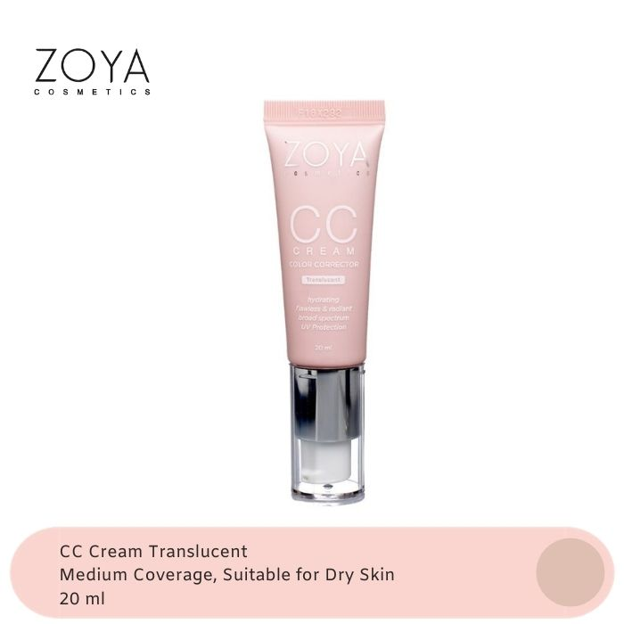 Zoya Cosmetics CC Cream Translucent thumbnail
