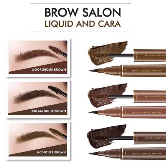 Browit alis by nongchat brow salon liquid and cara - Gorgeous brown thumbnail