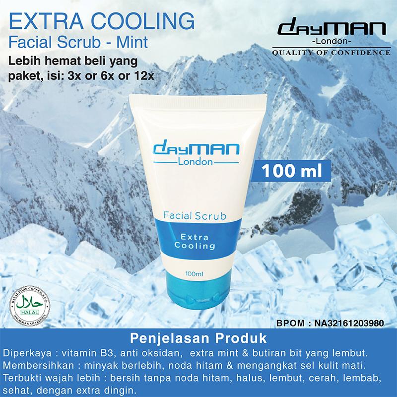 DayMan Facial Wash - Scrub Extra Cooling 100 ml thumbnail
