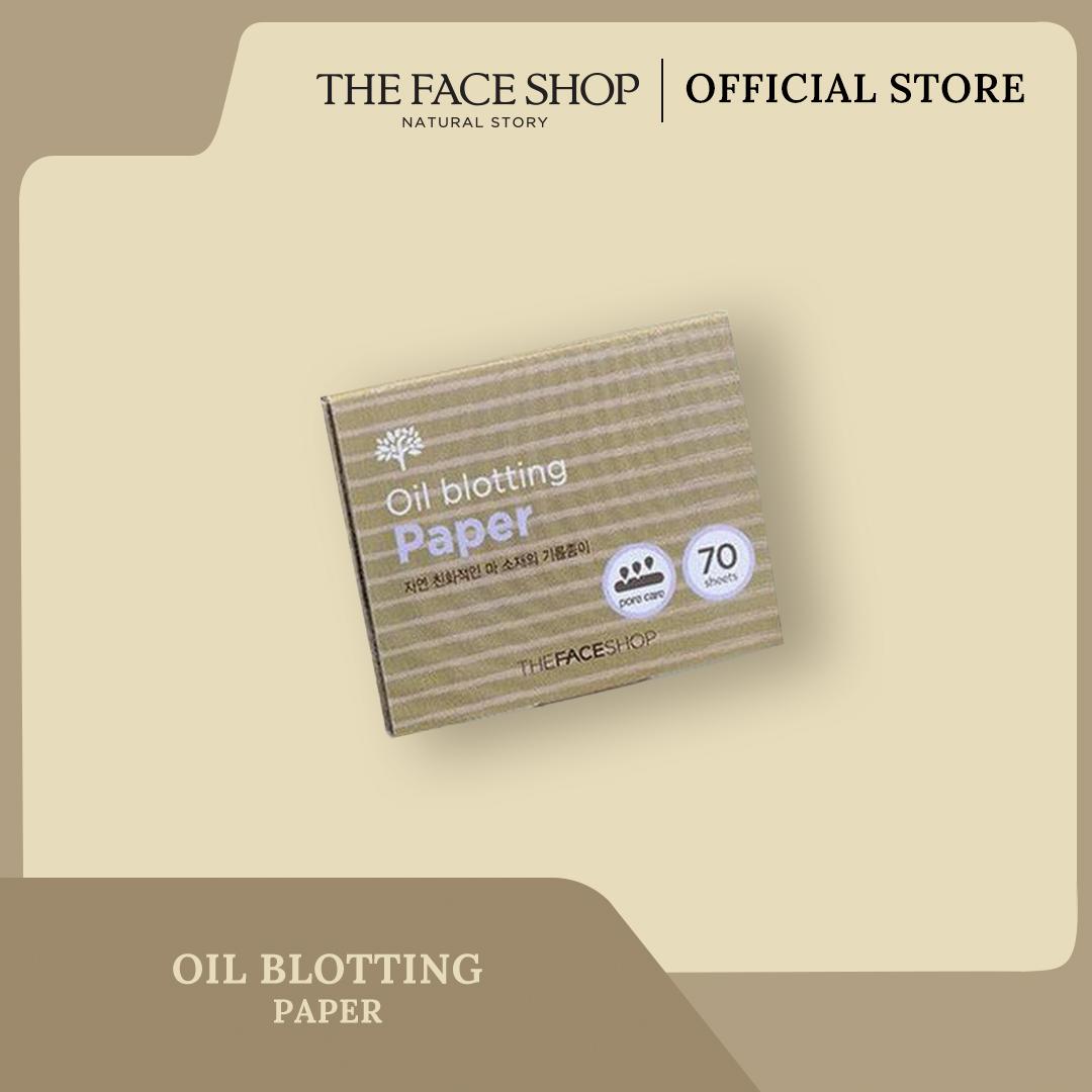 [The Face Shop] Oil Blotting Paper - 70pcs - Original thumbnail