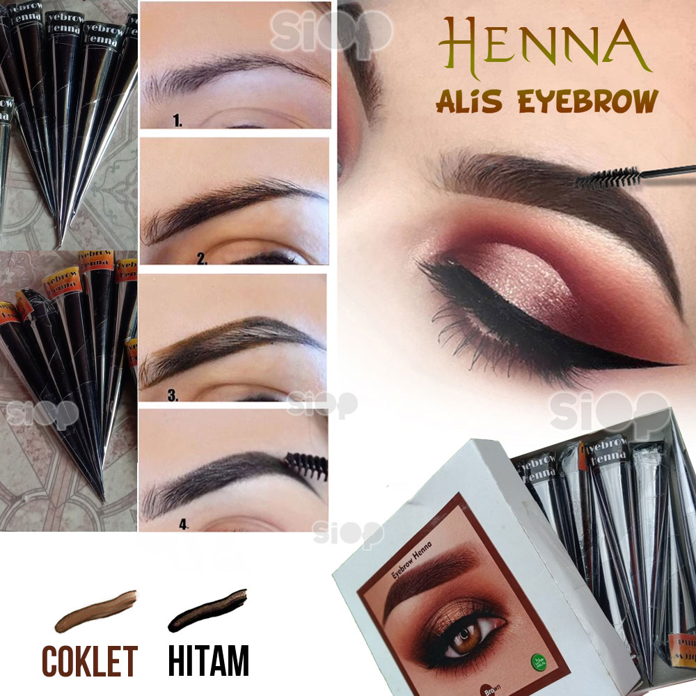 Henna Hena Alis Eyebrow Halal - Hena Alis HITMA thumbnail