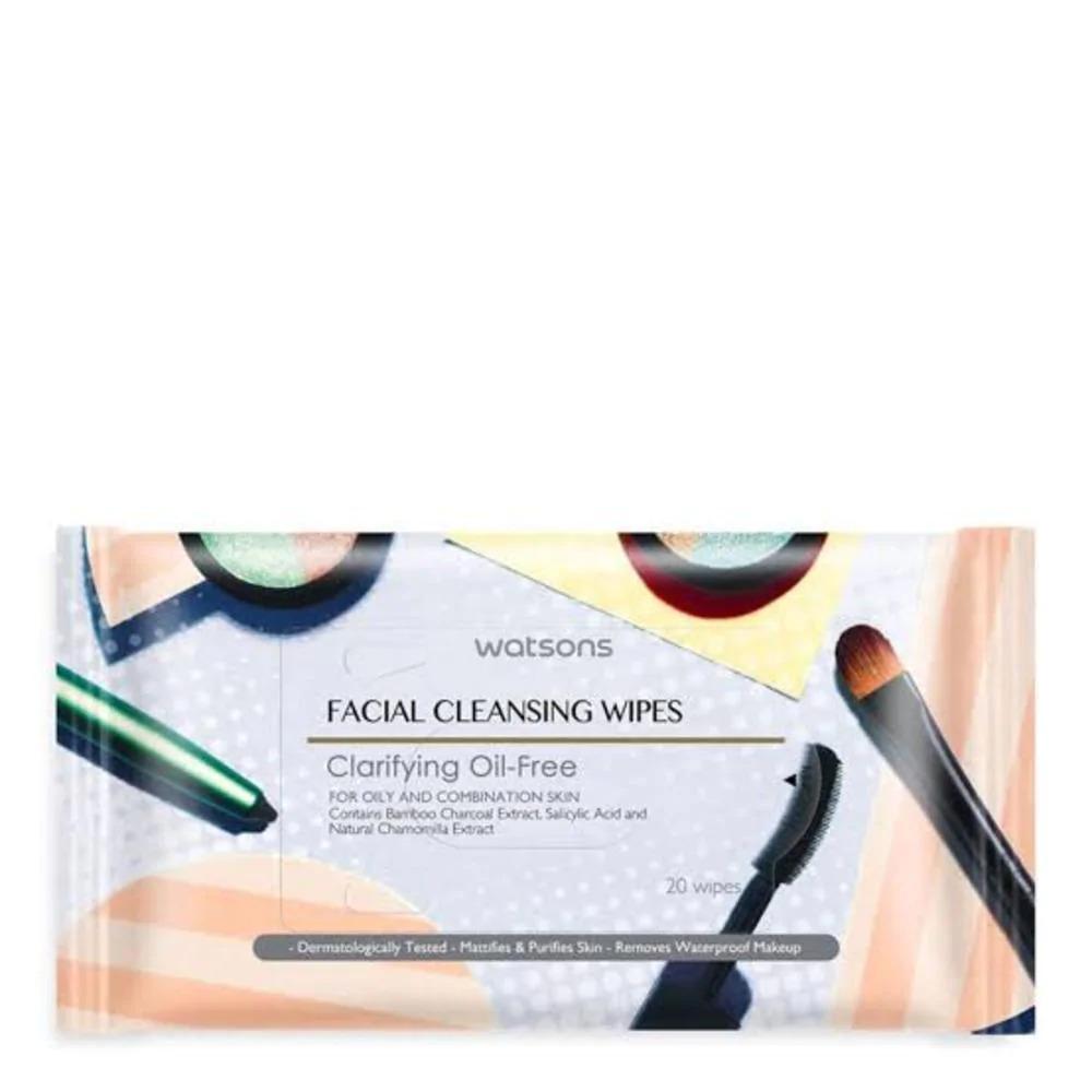 Watsons Facial Wipes Clarifying Oil-Free 20s thumbnail