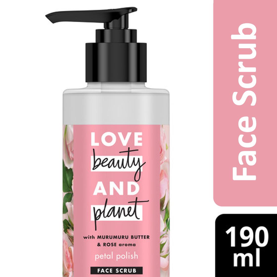 Love Beauty & Planet Face Scrub Murumuru 190Ml thumbnail