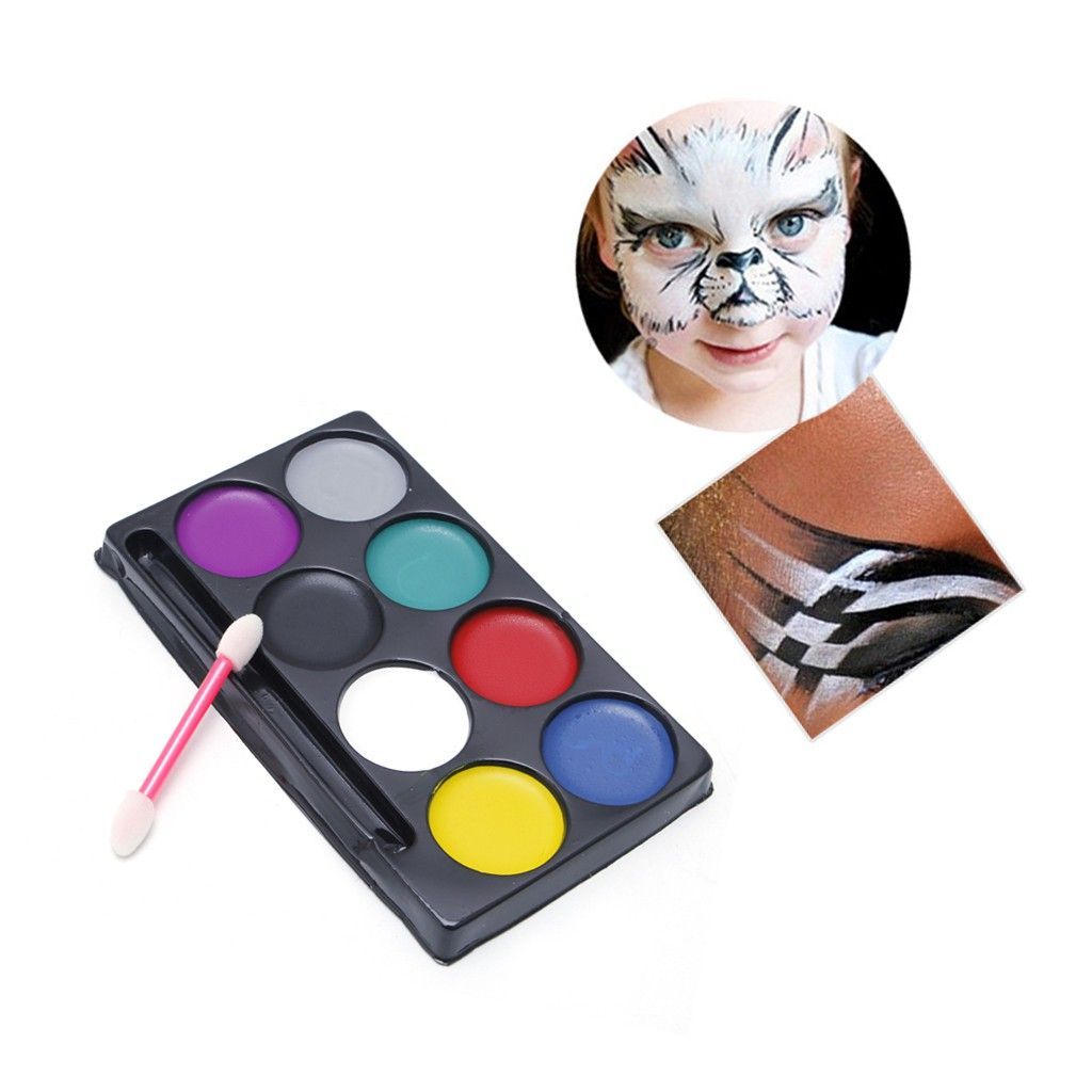 Cat face body painting face painting cat lukis wajah body painting 2