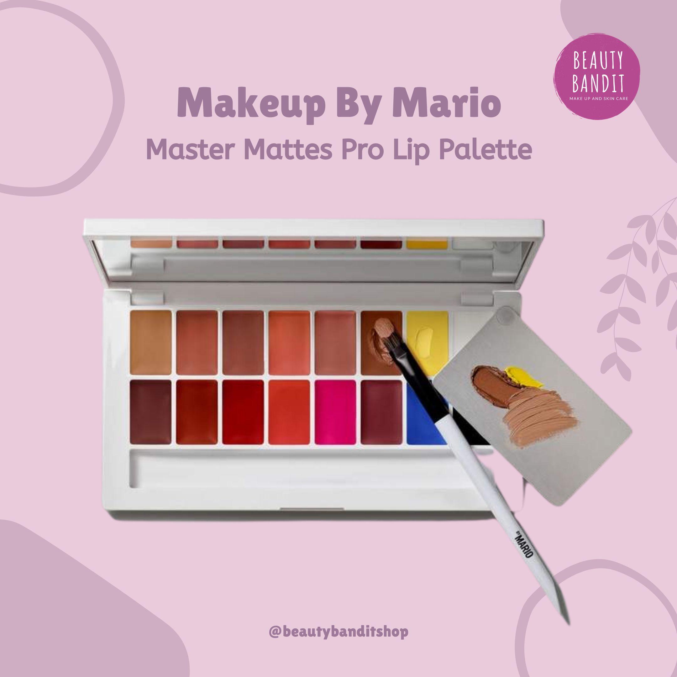Makeup By Mario Master Mattes Pro Lip Palette thumbnail