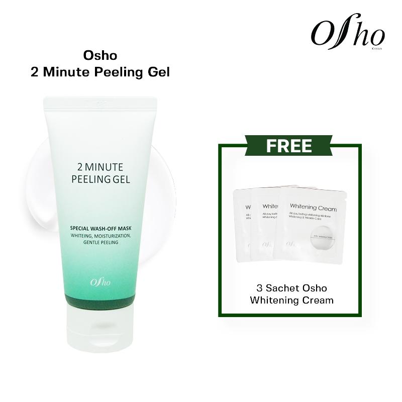 Osho - 2 Minute Peeling Gel Free 3 Sch Osho Whitening Cream thumbnail
