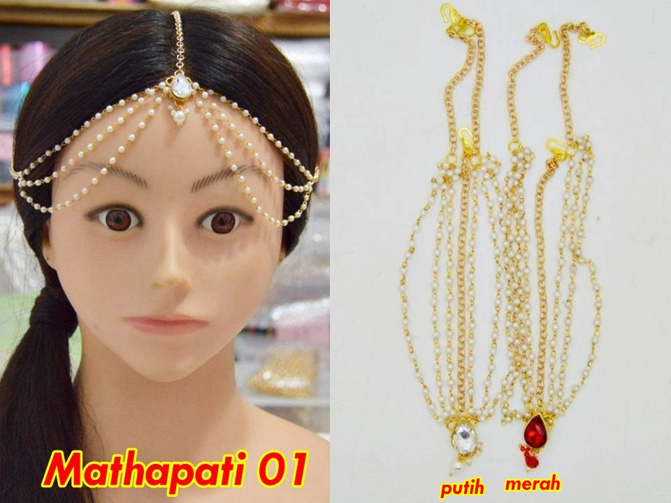 MT PROMO (2) Mathapati Hiasan Aksesoris Rambut Pengantin India thumbnail
