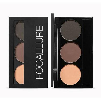 Focallure brows powder 03 5.8G Eyebrow Dekorasi alis Alis mata thumbnail