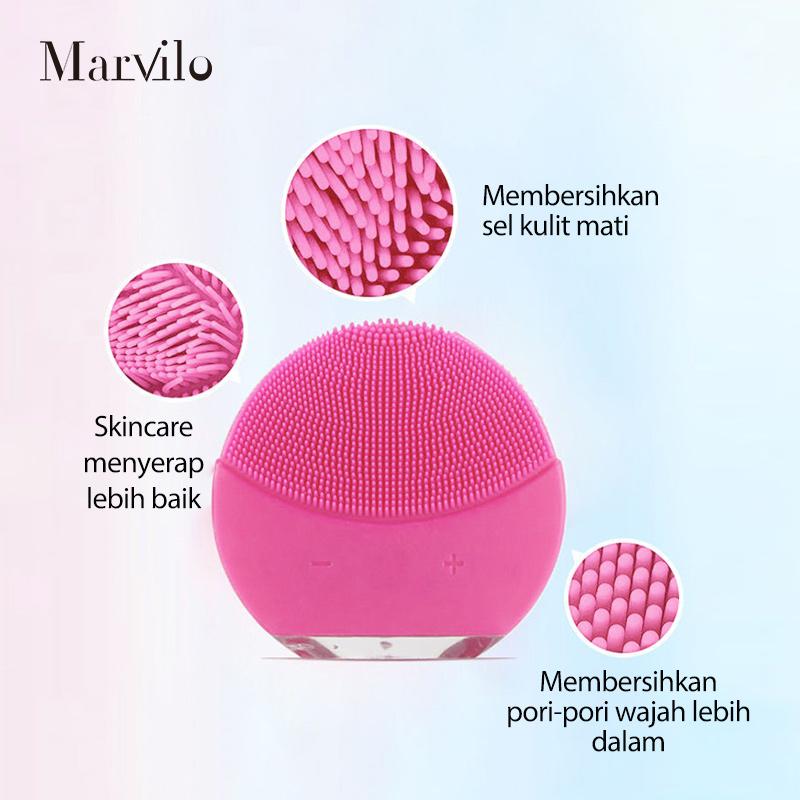 [BUY 2 GET 3] Marvilo Pembersih Wajah Elektrik dan Nano Spray Mist 2